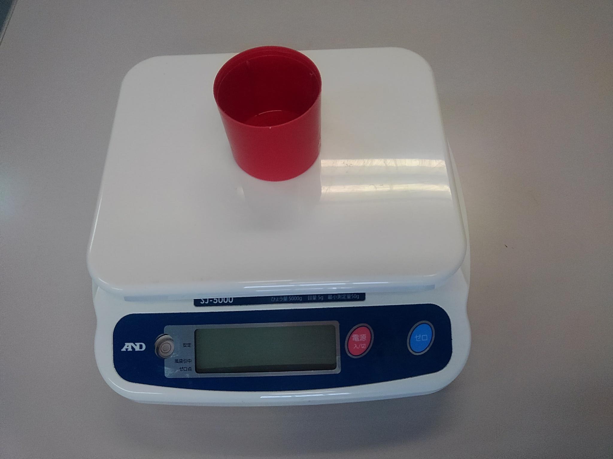 【土の比重(単位体積重量)の求め方】現場で簡単に測定する方法